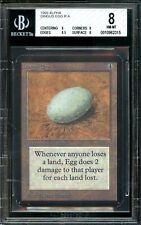 Dingus Egg ALPHA BGS 8 QUAD+ Edges 8.5 Beckett Graded NM-MT Magic MTG