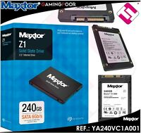"Disk Hard Internal SSD 240GB 2.5 "" Maxtor Z1 YA240VC1A001 SATA 600 6GB Seagate"