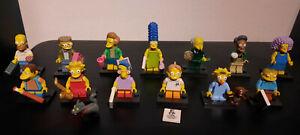 Lego - The Simpsons - 30 Minifiguren - Homer, Bart, Lisa, Frink etc.