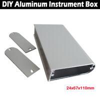 Aluminium Gehäuse GPRS Box Platinen Elektronik Netzteil Montage Verteilerkasten