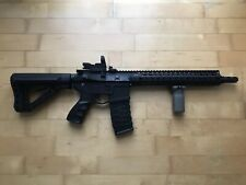 G&G Airsoft Gewehr CM16 E.T.U. SRXL S-AEG Schwarz 1,3 Joule inkl. Red Dot + Akku
