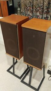 Vintage Excellent Pair of B&W DM/4 Speakers made in England