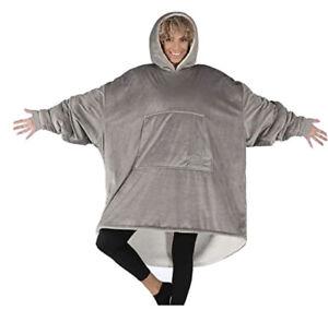 The Original Comfy Soft Blanket/Sweatshirt - Gray