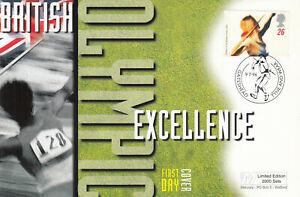 (63931) GB Luxury FDC Olympic Games Sheffield 1996