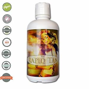 Rapid Tan Quick Sunless Tan Solution -  64 OZ (2 qt) - Tampa Bay Tan