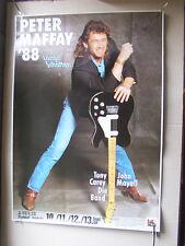 PETER MAFFAY,FRANKFURT FESTHALLE 1988 , poster 60x83 cm m-/ gerollt