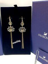 Swarovski 5522840 Symbolic Lotus Pieces Earrings, Green Crystal Several Styles