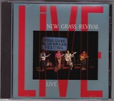 New Grass Revival - Live - CD (Sugar Hill SH-CD-3771)