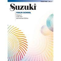 Suzuki Violin School, Volume 2 - By Shinichi Suzuki