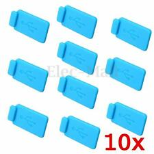 10x Silicon Protective AntiI Dust USB Plug Cover Stopper Easy Removal For Laptop