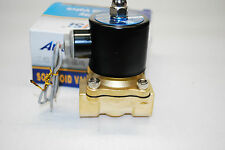 "Electric Solenoid Valve Water Air N/C AC110V Pipe size:3/4""  Normally Close 411"
