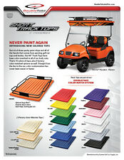 "EZGO, Club Car, Yamaha Golf Cart Canopy Universal 60"" Roof Top 18 Colors"