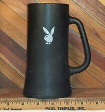Playboy Bunny Logo Glass Stein Beer Mug