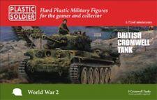 20 mm British Cromwell Tank - 1/72 - PLASTIC Soldier Company-WW2 -