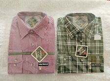 RYDALE KIRKBURN/WETWANG LONG SLEEVED CHECK SHIRT MENS SIZE MEDIUM (X2 NEW)