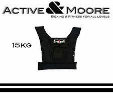 MORGAN 15KG WEIGHTED VEST RUGBY NRL MMA UFC CROSSFIT GYM WEIGHTS TRAINING GEAR
