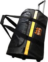 "BRAND NEW: WFS 24"" TARPAULIN WHEELIE DUFFLE BAG!!!"