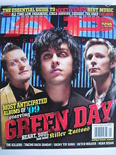 GREEN DAY  Jan 2009 A.P. Magazine  PARAMORE  ALL TIME LOW  KILLSWITCH ENGAGE