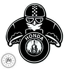 CUSTOM VINYL HONDA CAFE RACER DECALS