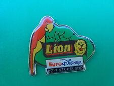 pins pin euro disney perroquet lion