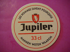 BEER COASTER *~* JUPILER Belgian Bier ** Add'l Coasters Only $0.25 S&H Worldwide