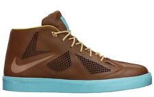 NIKE LEBRON X NSW LIFESTYLE NRG HAZELNUT-PALE BLUE-GOLD SZ 7.5 [582553-200]