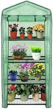 New listing Mini Portable Greenhouse Rack Stand Garden Green House Waterproof Outdoor 4 tier