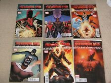 SHADOWLAND (2010 LIMITED SERIES) + AFTER THE FALL  6 NM MARVEL COMICS  Daredevil