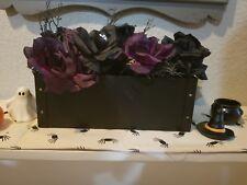 Hearth And Hand Magnolia / Black Metal Rectangle Vase Flower Frog