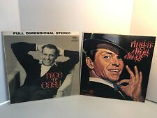 Frank Sinatra Ring A Ding Ding REPRISE R9-1001~Nice & Easy SW1417 capital record