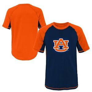 Outerstuff NCAA Youth Auburn Tigers Color Block Rash Guard Shirt