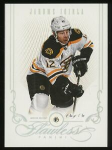 2013-14 Panini FLAWLESS PLATINUM DIAMOND Jarome Iginla Boston Bruins 1/1