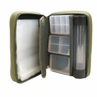 PVA Wallet Multi Purpose Storage Tackle Pouch includes 3 Tackle Boxes & Tube