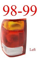 98 99 Ranger Left Tail Light, Ford, Complete Assembly, 2WD, 4WD, FO2800121
