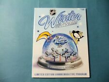 2008 Winter Classic program  Buffalo Sabres vs Pittsburgh Penguins