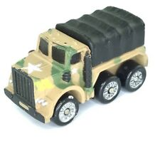 Micro Machines Military Army Cargo Truck M809 Vehicle Camouflage Black Transport