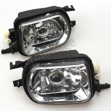 Pair For Mercedes-Benz W203 Clear Lens Bumper Fog Light Driving Lamp Replacement