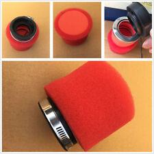 High Performance 58mm Inner Diameter Motorbike Bike Foam Air Filter Straight Red