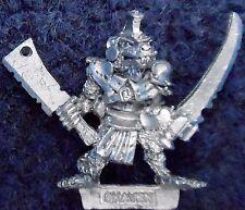 1987 Skaven c47 clanrat con Mannaia e spada Caos RATMEN CITTADELLA WARLORD EROE