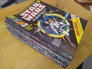 MARVEL 1977 STAR WARS WEEKLY ISSUES 1-54 GOOD CONDITION MINI POSTERS