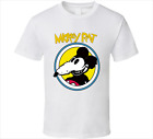 Mickey Rat Mouse Cartoon Retro Mens White T Shirt  Funny Tee Gift New From US