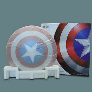 Original Box Marvel Legends Captain America 75th Anniversary 1:1 Metal Shield