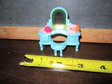 Fisher Price Sweet Streets House Home Cottage  Vanity Dresser Mirror furniture