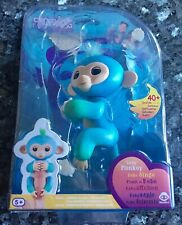 Fingerlings Baby Monkey. In Original Box. Blue/green.Excellent Condition.