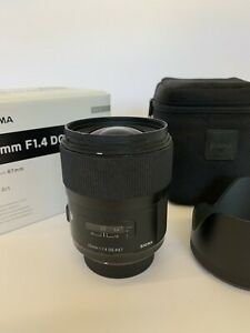 Sigma Art 35mm f/1.4 DG HSM Lens for Nikon F