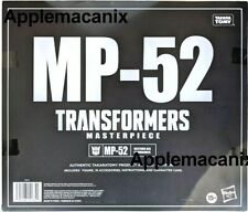 Transformers Masterpiece MP-52 Starscream 2.0 AUTHENTIC TAKARA TOMY 2021 MINTBOX