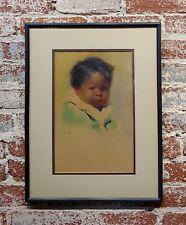 Gerald Cassidy -Portrait of a Pueblo Boy- Taos Painting c1916