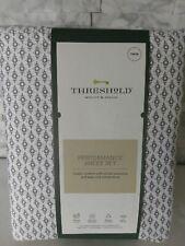 Threshold Performance Twin Sheet Set Print 400 Tc 100% Cotton