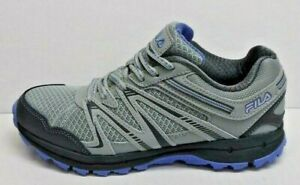 Fila Size 7.5 Grey Trail Hiking Sneakers New Womens Shoes
