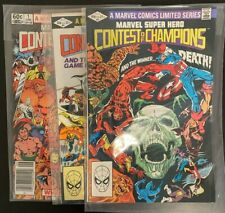 Marvel Super Hero Contest of Champions Complete Run of 3: Bronze Age, High Grade